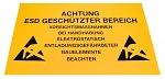 WARMBIER - 2850.300500.KS.D - Kunststoffschild für EPA, deutsch, gelb, WL18391
