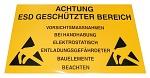 WARMBIER - 2850.150300.D - EPA Warnschild, 300 x 150 mm, PVC, gelb, deutsch, WL27068