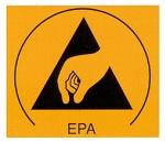 WARMBIER - 2850.3025 - ESD-Symbol Typ EPA - Aufkleber, WL21008