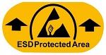 WARMBIER - 2822.1.EPA - Bodenmarkierungsaufkleber ESD Protected Area, PVC-Folie, WL32913