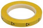 WARMBIER - 2820.12733.Y - ESD adhesive tape PVC, yellow, 12,7 mm x 33 m roll, WL32231