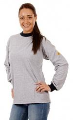 WARMBIER - 2645.T.S - ESD T-Shirt langarm unisex, grau, S, WL31983