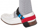 WARMBIER - 2560.890.R - ESD heel strap continuous use with clip, red heel strap, unisex, WL32101