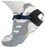 SAFEGUARD - SAFEGUARD ESD - ESD heel strap with clip closure, adjustable, black, WL19380