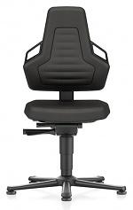 BIMOS - 9030E-CP01-3218 - ESD chair NEXXIT 1, with glider, Supertec black, ESD handles, WL43861