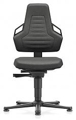 BIMOS - 9030E-9801-3218 - ESD chair NEXXIT 1, with glider, Duotec black, ESD handles, WL43864