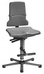 BIMOS - 9821E/1100 - ESD Stuhl Sintec 3 mit Gleiter und Aufstiegshilfe, Synchrontechnik, WL31097