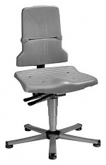 BIMOS - 9820E/1100 - ESD Stuhl Sintec 1 mit Gleiter, Synchrontechnik, WL31093