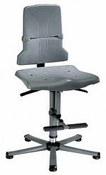 BIMOS - 9811E/1100 - ESD Stuhl Sintec 3 mit Gleiter und Aufstiegshilfe, Permanentkontakt und Sitzneigung, WL31098