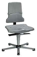 BIMOS - 9810E/1100 - ESD chair Sintec 1 with glider, permanent contact and seat tilt adjustment, WL31092
