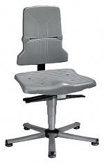 BIMOS - 9810E/1100 - ESD Stuhl Sintec 1 mit Gleiter, Permanentkontakt und Sitzneigunsverstellung, WL31092