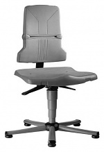 BIMOS - 9800E/1100 - ESD chair Sintec 1, with glider and permanent contact, basalt grey, WL31091