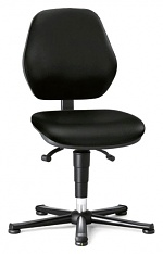 BIMOS - 9150E-9801 - ESD chair BASIC 1 with glider, fabric Duotec black, permanent contact, WL31115