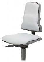 BIMOS - 9876-6911 - Sintec changeable upholstery, with lumbar support imitation leather grey, WL40200
