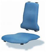 BIMOS - 9876-6902 - Sintec changeable upholstery, with lumbar support imitation leather blue, WL40199