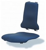 BIMOS - 9876-6802 - Sintec changeable upholstery, with lumbar support fabric Duotec blue, WL40195