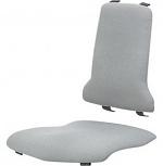 BIMOS - 9875E-9811 - ESD Sintec Interchangeable upholstery fabric Duotec, grey, WL31104