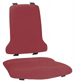 BIMOS - 9875E-9803 - ESD Sintec Interchangeable upholstery fabric Duotec, red, WL31105