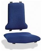 BIMOS - 9875E-9802 - ESD Sintec Interchangeable upholstery fabric Duotec, blue, WL31103
