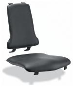 BIMOS - 9875-2571 - Sintec interchangeable upholstery imitation leather, black, WL40190