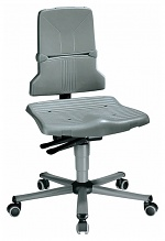 BIMOS - 9823-1000 - Sintec 2 work chair with castors, synchronous technology, WL40182