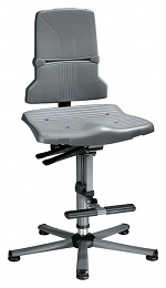 BIMOS - 9821-1000 - Sintec 3 work chair, with glider and climbing aid, synchronous technology, WL40185