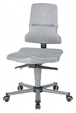 BIMOS - 9813-1000 - Sintec 2 work chair with castors, permanent contact and seat inclination, WL40181