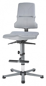 BIMOS - 9811-1000 - Sintec 3 work chair, with glider and ascent aid, permanent contact and seat inclination, WL40184