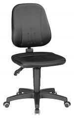 BIMOS - 9653-CI01 - Unitec 2 work chair with castors, black fabric, WL40295