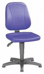 BIMOS - 9650-CI02 - Unitec 1 work chair with glider, fabric upholstery blue, WL40291