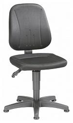 BIMOS - 9650-CI01 - Unitec 1 work chair with glider, black fabric upholstery, WL40290