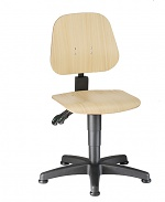 BIMOS - 9650-3000 - Work chair Unitec 1 with glider, beech plywood, WL40289
