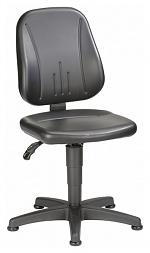 BIMOS - 9650-0551 - Work chair Unitec 1 with glider, imitation leather black, WL40292