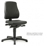 BIMOS - 9630-6801 - All-In-One Trend 1 work chair with glider, fabric Duotec black, WL40259
