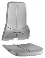 BIMOS - 9588-2002 - Upholstery for work chair Neon, integral foam grey, WL40174