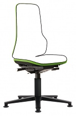 BIMOS - 9570-9999-3280 - Neon 1 work chair with glider, Flexband green - Synchrontechnik, WL40158