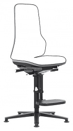 BIMOS - 9561-9999-3278 - Neon 3 work chair glider and climbing aid, Flexband grey, permanent contact, WL40152