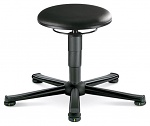 BIMOS - 9467E-2571 - ESD stool 1 with glider, imitation leather black, WL40373