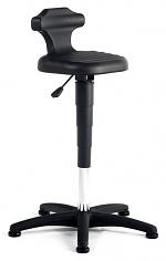 BIMOS - 9409-2000 - Standing aid Flex, sitting and standing chair, black, WL40304