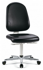 BIMOS - 9161-2571 - Cleanroom work chair Plus 2 with castors, backrest height 500 mm, WL33447
