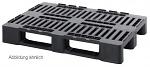 WEIDINGER - MPHD 1208 - Medium pallets with safety edge Medium pallet, WL33474