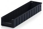 ESD RK 61509 - ESD shelf and material flow box, black, 600x156x90 mm, WL45534