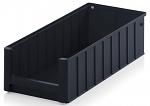 ESD RK 5214 - ESD shelf and material flow box, black, 500x234x140 mm, WL45449