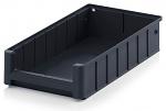 ESD RK 4209 - ESD shelf and material flow box, black, 400x234x90 mm, WL44758