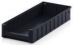 ESD RK 5209 - ESD shelf and material flow box, black, 500x234x90 mm, WL45448