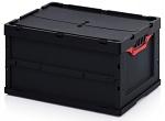 ESD FBD 64/32 - ESD Faltbox mit Deckel, 600x400x320 mm, WL44742