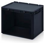 ESD SB.42 - ESD-Schubladenbehälter Einzelkomponenten, 600x400x435 mm, WL43717