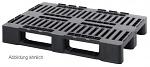 MPHD 1210 - Medium pallets with safety edge Medium pallet, WL33475