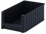 ESD SK 5 - ESD visual storage box, black, 500x310x200 mm, WL35288