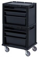 ESD SB.S2+ - ESD-Schubladenbehälter Komplettsystem, WL35428